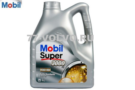Масло моторное Mobil Super 3000 X1 5W-40 4л \\ MOBIL